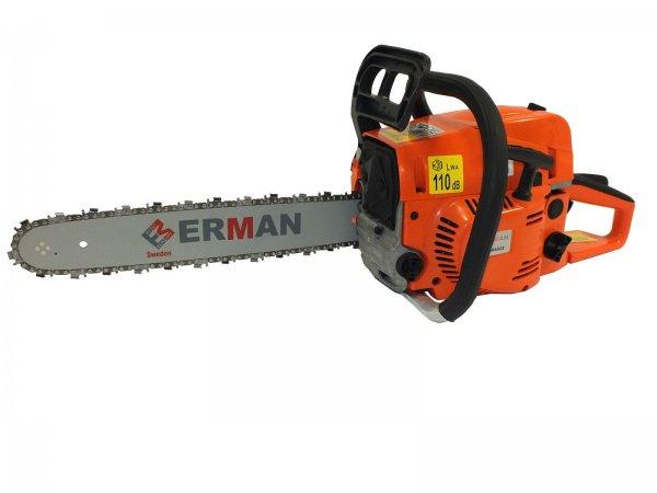 """Ebay WoW: Erman Benzin Motorsäge Kettensäge 4,3 PS, 16"""", 40 cm inkl. 2 x Kette 2 x Schiene"""