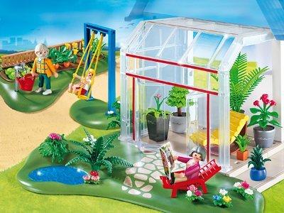[amazon.de] PLAYMOBIL 4281 - Wintergarten mit Sonnenterrasse