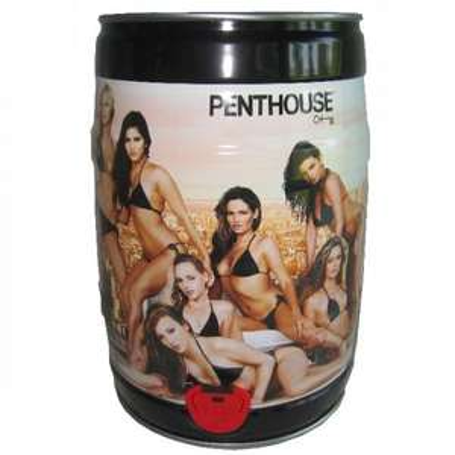 5x 5 Liter Penthouse Bier Partyfass nur 29.98 inkl. Versand