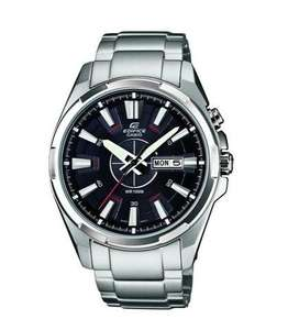 Casio Herren-Armbanduhr Quarz XL Edifice EFR-102D-1AVEF für 57€ @Amazon.co.uk