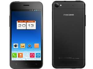 "Phicomm X100 Schwarz Smartphone 4.7"" 1.2 GHz Quad Core 16 GB 8MP Amazon"