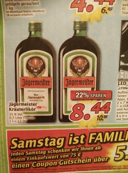 Jägermeister 0,7l - 8,44€ Marktkauf (Nürnberg/Lokal)