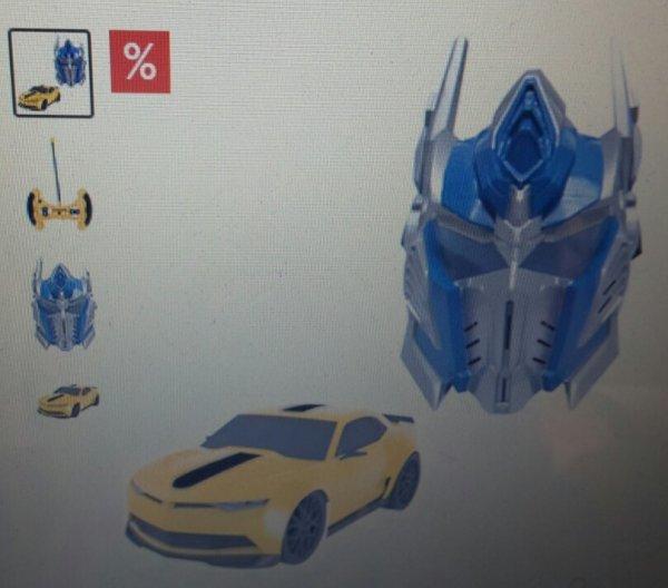 Transformers Set: RC-Auto Bumblebee und Battle Maske Optimus Prime bei Otto (bzw. Mytoys)