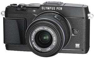 Olympus Pen E- P5 Kit 14-42 mm ( Schwarz ) für 600 € @ Amazon.co.uk