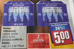 (LOKAL) Rewe Center 2 Kästen Bonaqa Tablewater