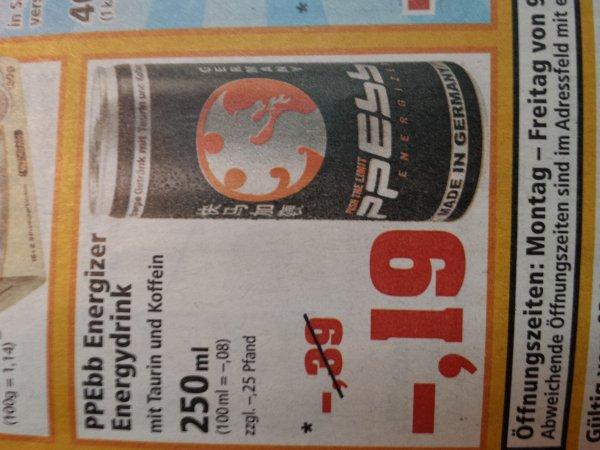 """""""Haben wir noch PPEbbs dabei?!"""" - PPEbb Energy Drink 0,44,- @ Thomas Philipps"""