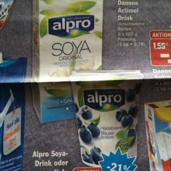 [bundesweit?] HIT Alpro Soya Joghurt/Drink 1,49€