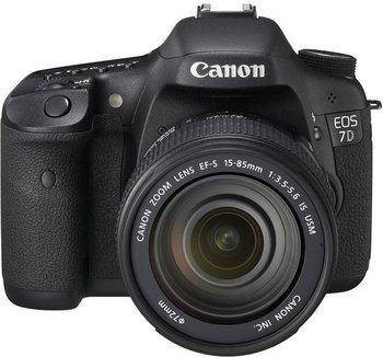 Canon EOS 7D Kit mit EF-S 18-135mm 1:3.5-5.?6 IS Schwarz für 899,-@Saturn Super Sunday