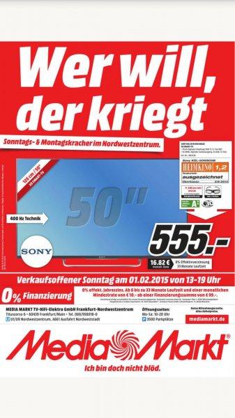 Offline / Lokal Frankfurt am Main Nordwestzentrum Media Markt Sony KDL-50W805B 3D Smart TV
