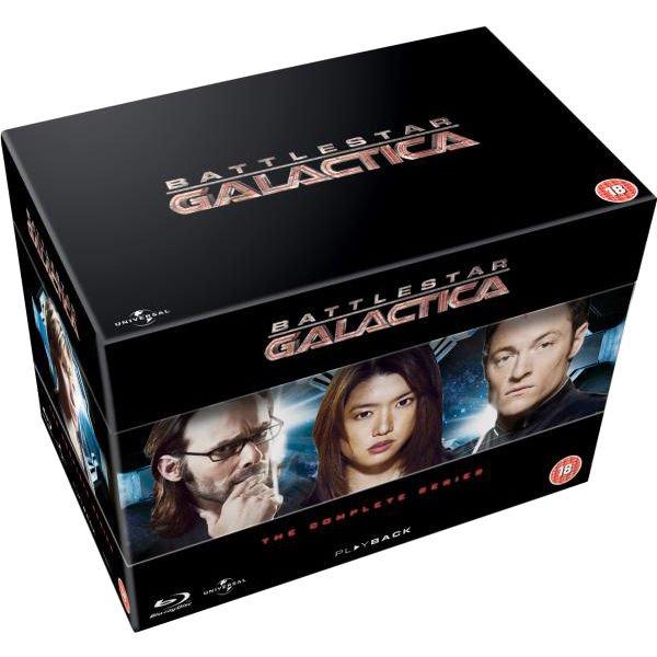 Battlestar Galactica Die Komplette Serie (DVD) O-Ton für ca. 9,32 € > [zavvi.com]