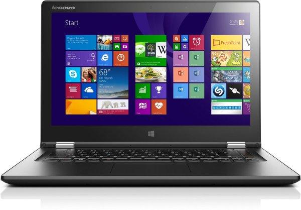 Lenovo Yoga 2-13 33,8 cm (13,3 Zoll FHD IPS) Convertible Notebook (Intel Core i5 4210U)