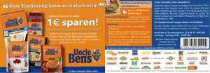 Uncle Ben's Reis bei Edeka in Buttstädt (Evtl. Lokal?) Gratis durch Coupon