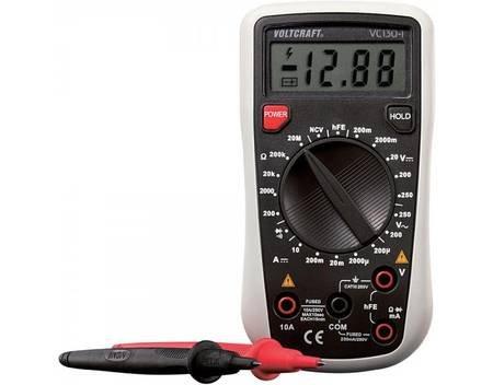 Multimeter von Conrad-eigenem Hersteller · 15,99 € bei meinpaket.de · Hand-Multimeter digital VOLTCRAFT VC130-1 CAT III 250 V Anzeige (Counts): 2000