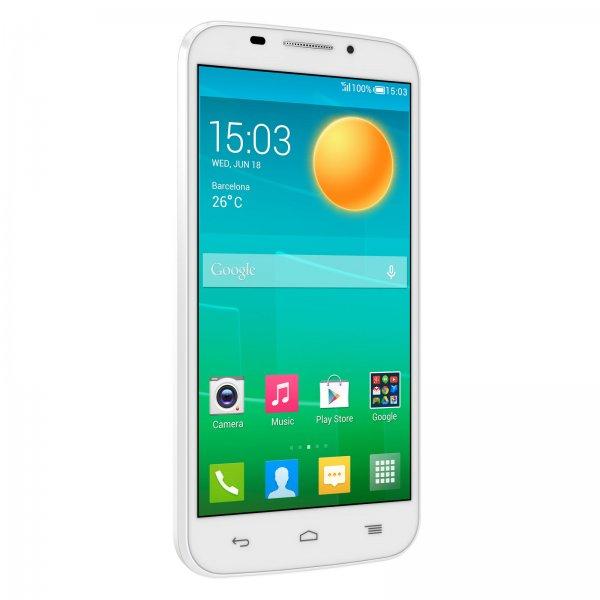 """ALCATEL One Touch POP S7 (weiß) u. (blau/schwarz) LTE in 5"""" IPS 960x540 Pixel Android 4.4"""