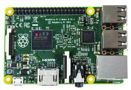 Raspberry Pi 2 Model B - Quad Core, 6x mehr Performance und 1GB RAM, günstig ab 2 Stück / Windows 10!