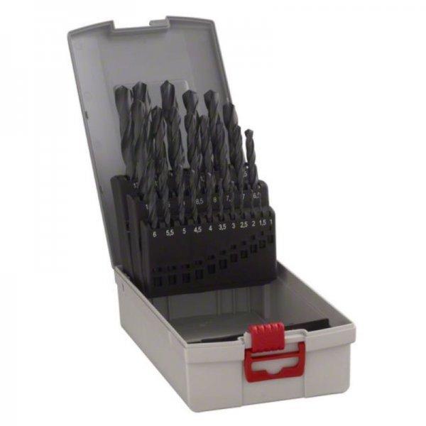 [eBay WOW] BOSCH Metallbohrer-Set HSS-R, ProBox, 25-teilig, DIN 338, 1-13 mm