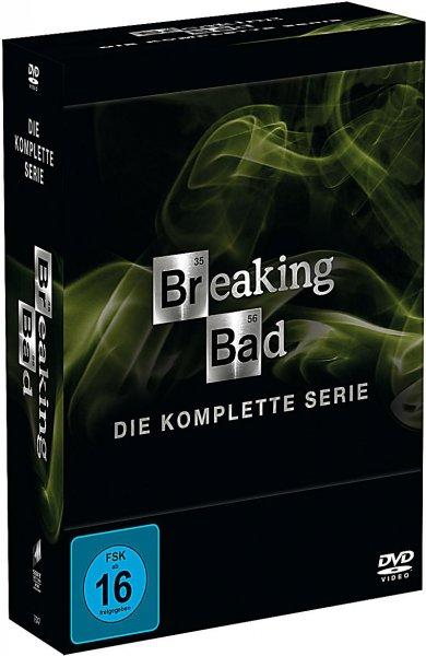 Breaking Bad - Die komplette Serie [DVD/Englisch] für ~ 46,90€ @Amazon UK