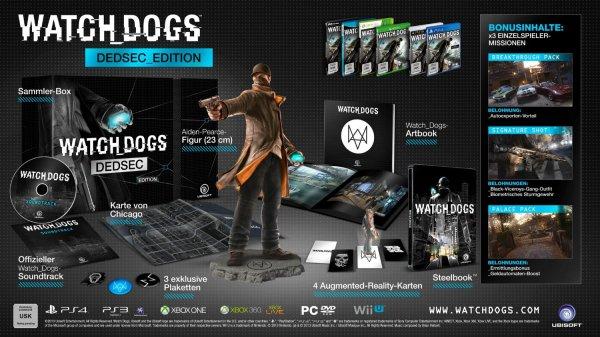 Watch Dogs - DEDSEC_Edition @amazon.de