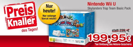 Nintendo Wii U Skylanders Trap Team Basic Pack