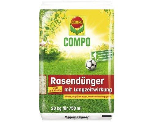 [Lokal Braunschweig] Rasendünger Compo mit Langzeitwirkung - 20kg für 20,- Euro (fast 50% unter Idealo)