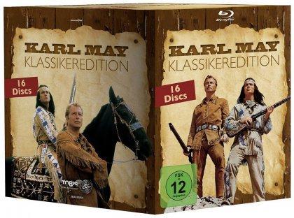 Karl May Klassiker Gesamtbox (Blu-ray) für 71,96€ @Media Dealer