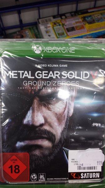 [LOKAL] Metal Gear Solid Ground Zeroes (Xbox One) @Saturn München am OEZ