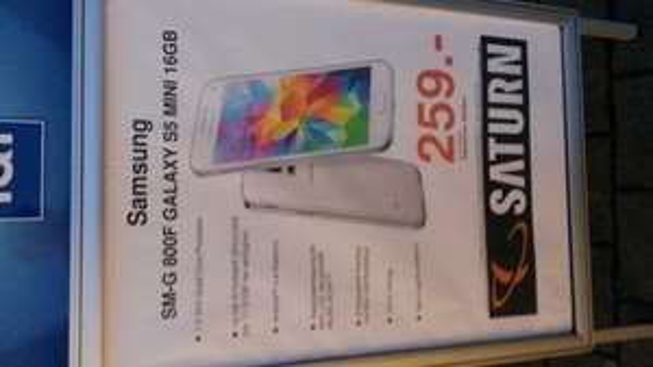 Samsung Galaxy S5 mini 259€