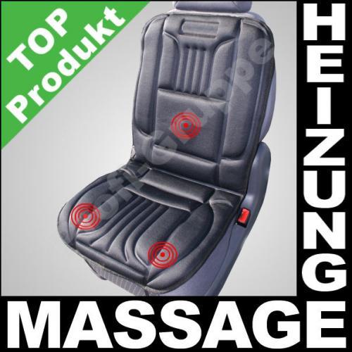 KFZ SITZHEIZUNG mit Massage / Beheizbare Sitzauflage 18,90 € Ebay