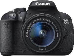 CANON EOS 700D+18-55mm IS STM 499 € mediamarkt.de