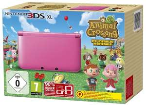 [Alternate Outlet] Nintendo 3DS XL in rosa inkl. Animal Crossing New Leaf 149,90 €