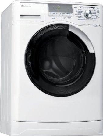 Bauknecht WA Eco Star 7 ES Waschmaschine Frontlader / A+++ A / 1400 UpM / 7 kg / Weiß / DirektEinsprühSystem DES+ / Ultimate Care /Big window / Vollwasserschutz [Energieklasse A+++] ***ERSPARNIS 80€****
