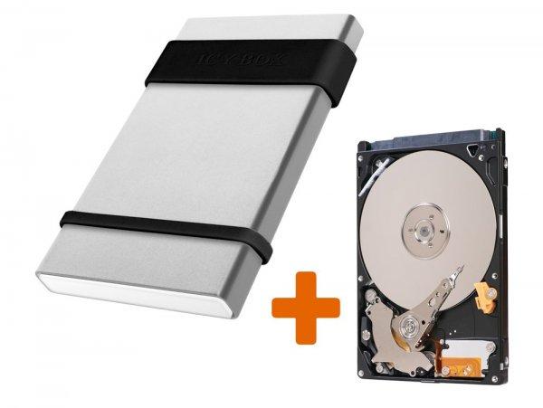 [gravis.de] 500GB HDD 2,5'' + RaidSonic Icy Box Gehäuse + Artikel im Wert von 10€ für 44€ + Payback / Qipu