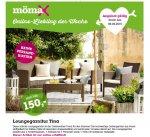 Rattanoptik-Lounge-Garnitur Tina * Mömax online * ohne Versandkosten