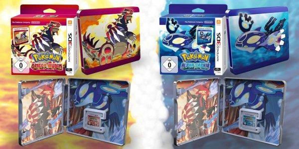 Pokemon Omega Rubin Steelbook Edition (Dealbeschreibung lesen)