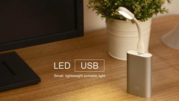 Xiaomi Led Licht für Powerbank oder Computer/Tablet (Banggood)