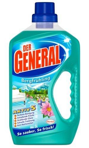 [Amazon Prime]Der General Bergrühling, Allzweckreiniger, 4er Pack (4 x 750 ml) für 4.44