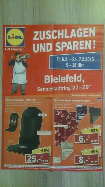 [LIDL lokal] Sonderverkauf am 6. - 7.2., Bsp.: Shiatsu-Sitzauflage für 25€