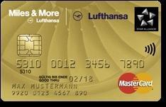 25000 Meilen beim Abschluss Lufthansa Miles and More KK Gold Business