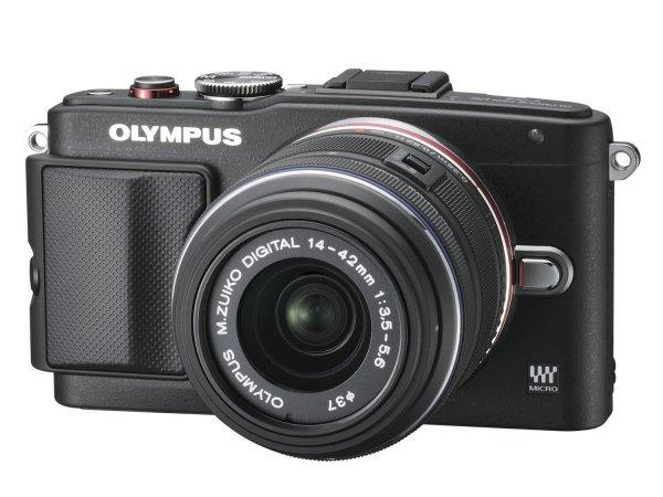 Olympus Pen E-PL6 Kit 14-42 mm EZ schwarz für 387,32€ @Amazon.es