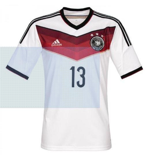 "adidas Trikot DFB *** (3) Sterne Deutschland Home beflockt `""Müller"" bei amazon Blitzdeals"