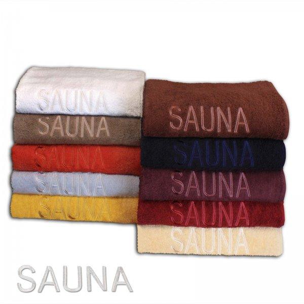 [eBay WOW] Saunatücher im Julido Winter Sale 100% Baumwolle 70x200cm 11 Farben bestickt