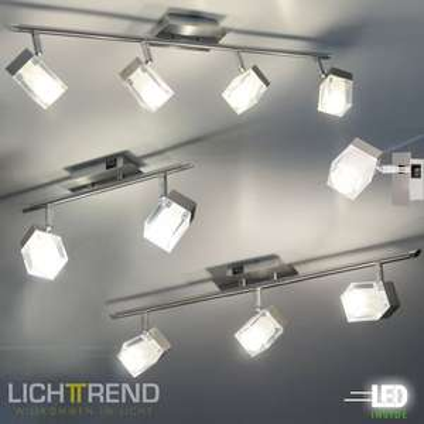 [eBay WOW] Moderne Wand- & Deckenspots + LED-Leuchtmittel / EEK:A