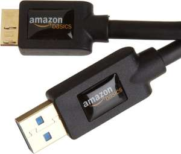 AmazonBasics USB 3.0-Kabel A-Stecker auf Micro-B, 2,7 m @AmazonPrime