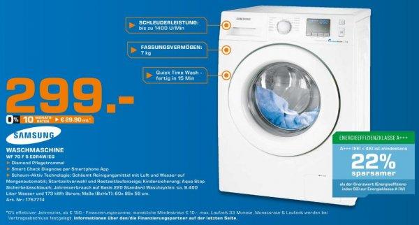 Samsung WF 70 F 5 E0R4W/EG Waschmaschine @ Saturn Hamburg
