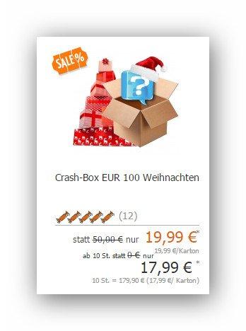 Crash Box 100 für 19,99 Euro