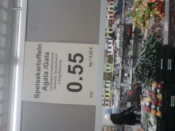 2,5 kg Kartoffeln bei Aldi in Berlin