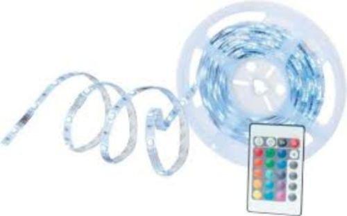 5m LED-Band mit Netzteil und Fernbedienung durch Gutschein für 8,44€ *Mömax*