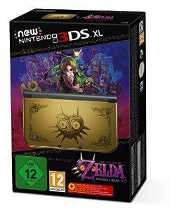 Conrad:Nintendo New 3DS XL Konsole Gold inkl. The Legend of Zelda - Majora´s Mask (vorinstalliert) 234,95 mit Gutschein