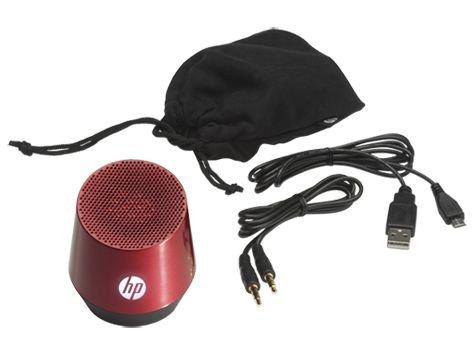 [HP-Onlinestore] Mobiler Minilautsprecher S4000 rot für 4,99 €, VSK-frei