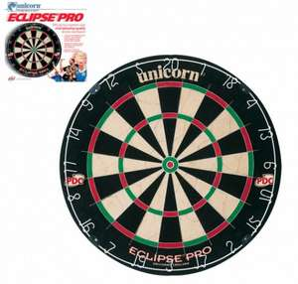 Unicorn Eclipse Pro Dartboard & anderes günstiges Darts Einsteiger Equipment